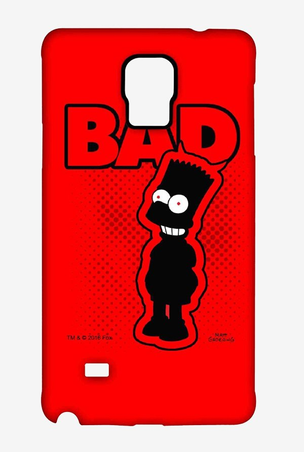 Simpsons Bad Case for Samsung Note 4