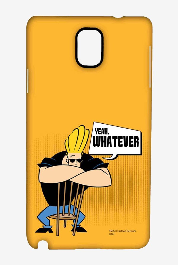 Johnny Bravo Yeah Whatever Case for Samsung Note 3