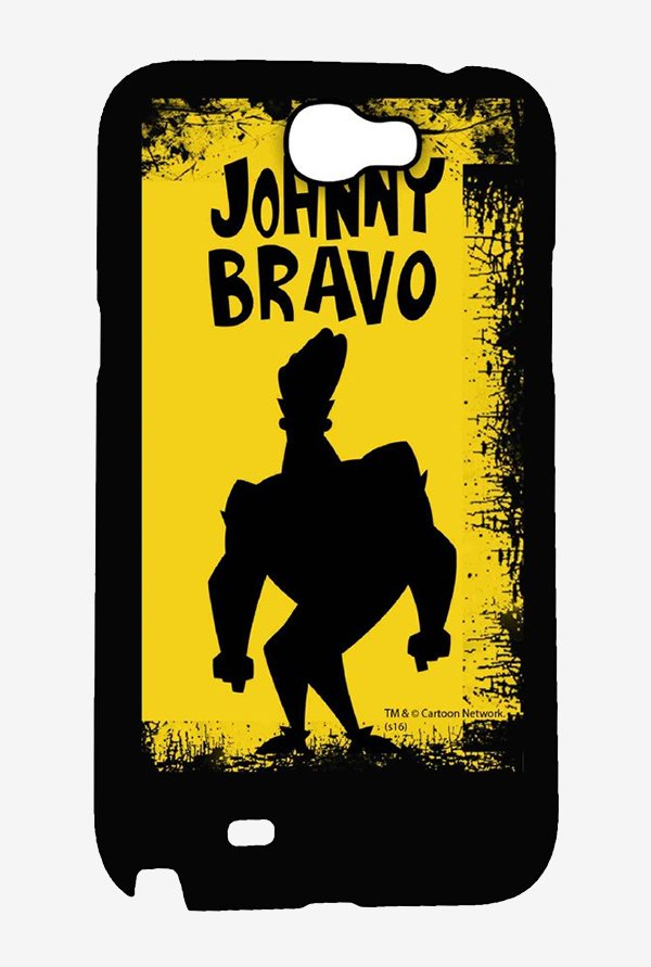 Johnny Bravo Yellow Grunge Case for Samsung Note 2