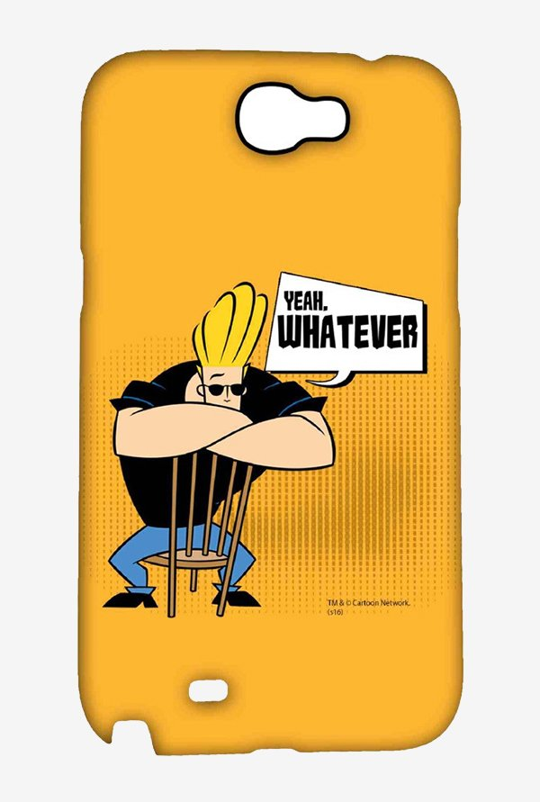 Johnny Bravo Yeah Whatever Case for Samsung Note 2