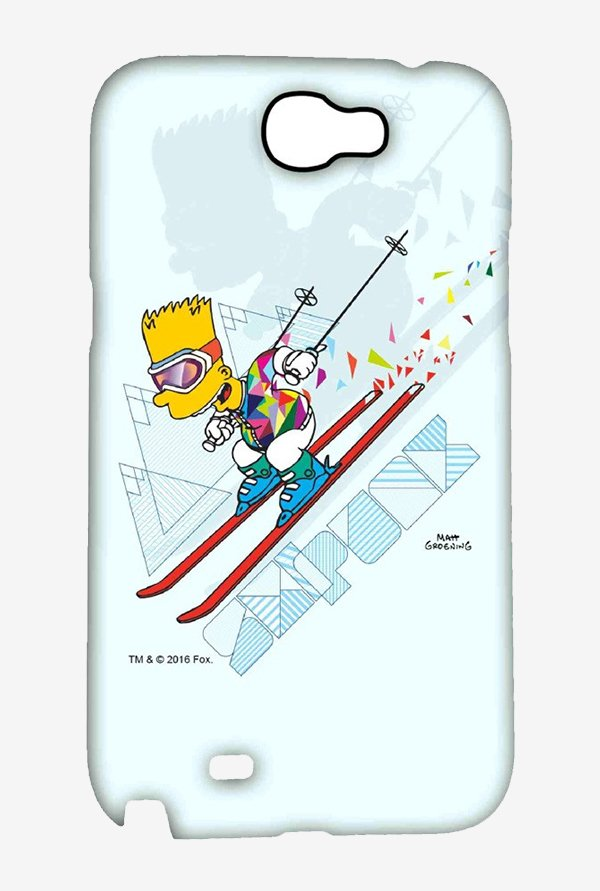 Simpsons Ski Punk Case for Samsung Note 2