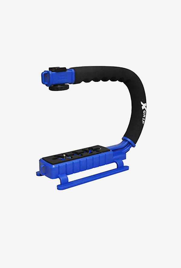 Opteka X-GRIP Professional Action Stabilizing Handle (Blue)