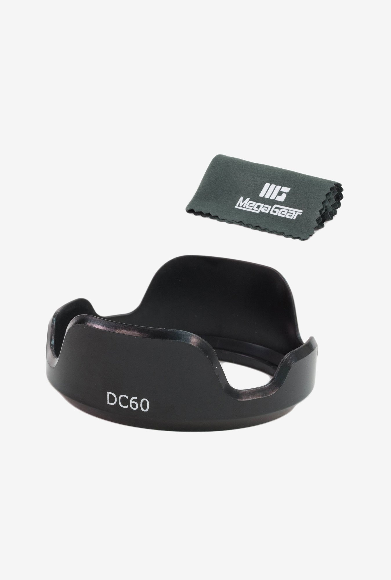 MegaGear LH-DC60 Lens Hood for CANON PowerShot SX50 (Black)