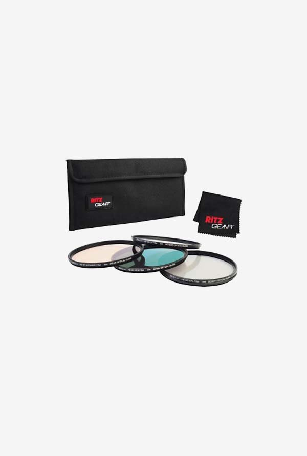 RitzGear 40.5mm Premium HD MC Super Slim Lens Filter Set