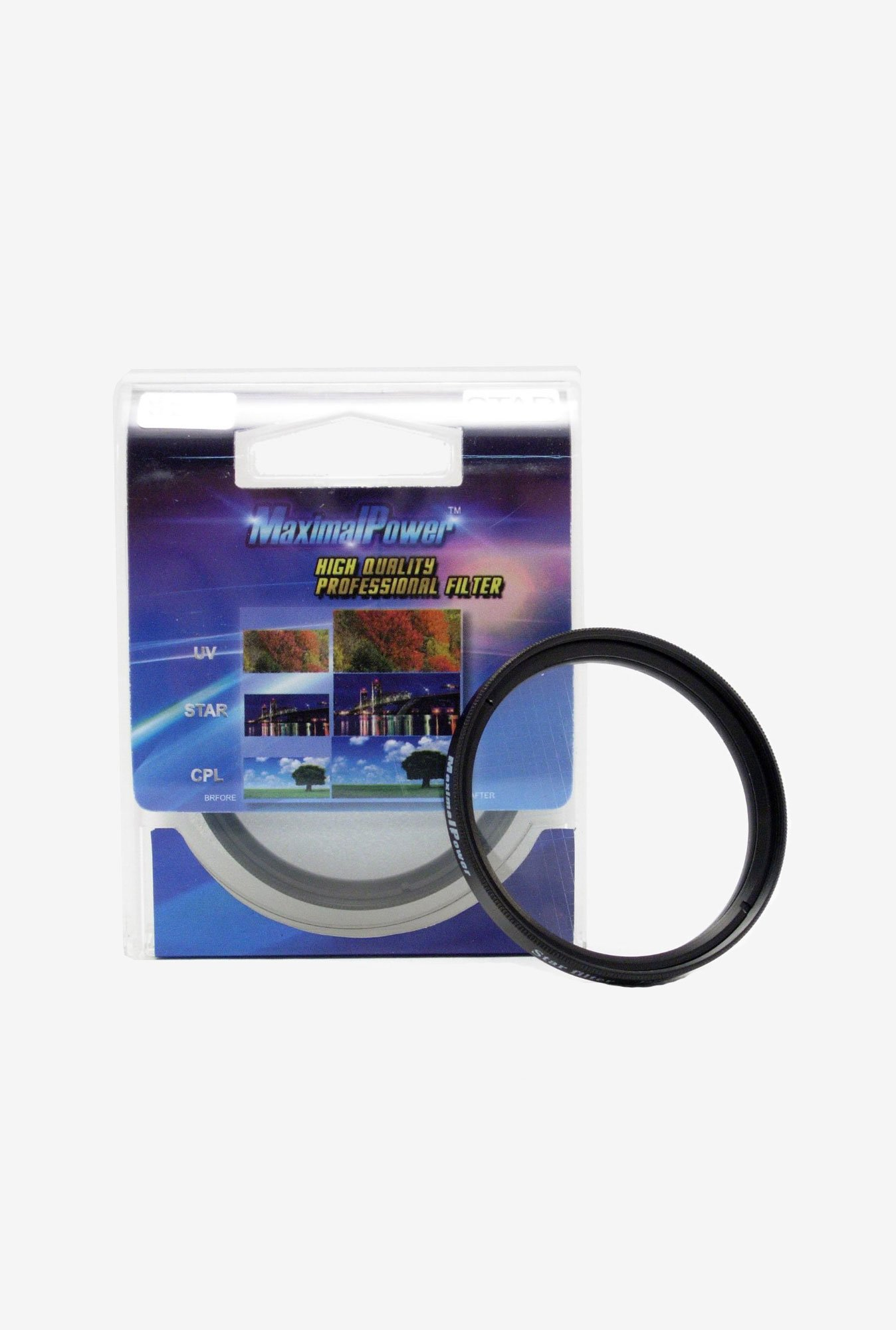 Maximal Power 58mm 4 Points Star Filter (Black)