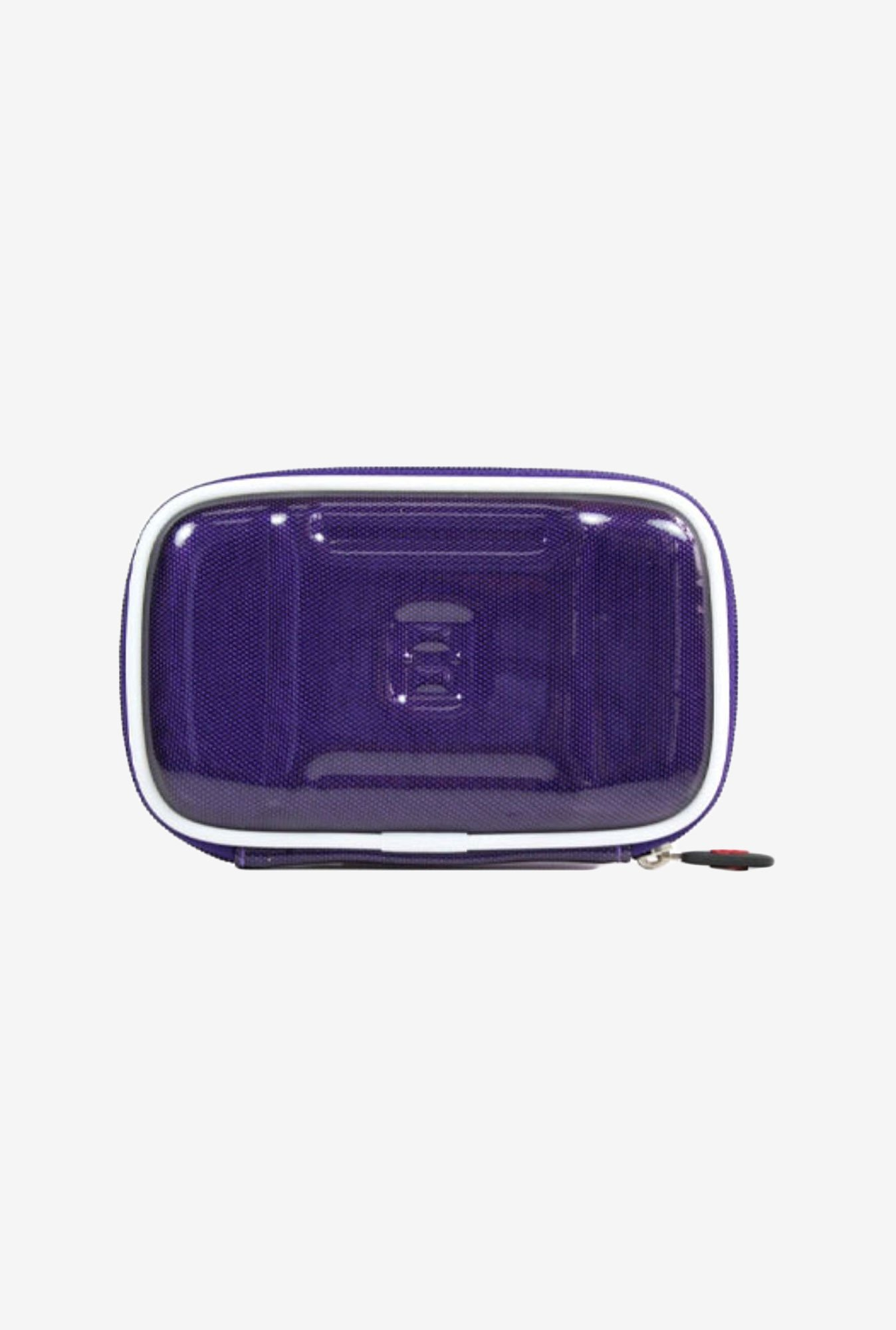 "Kroo CARBON Hard Case for 4.3"" GPS/UHD Camcorder (Purple)"
