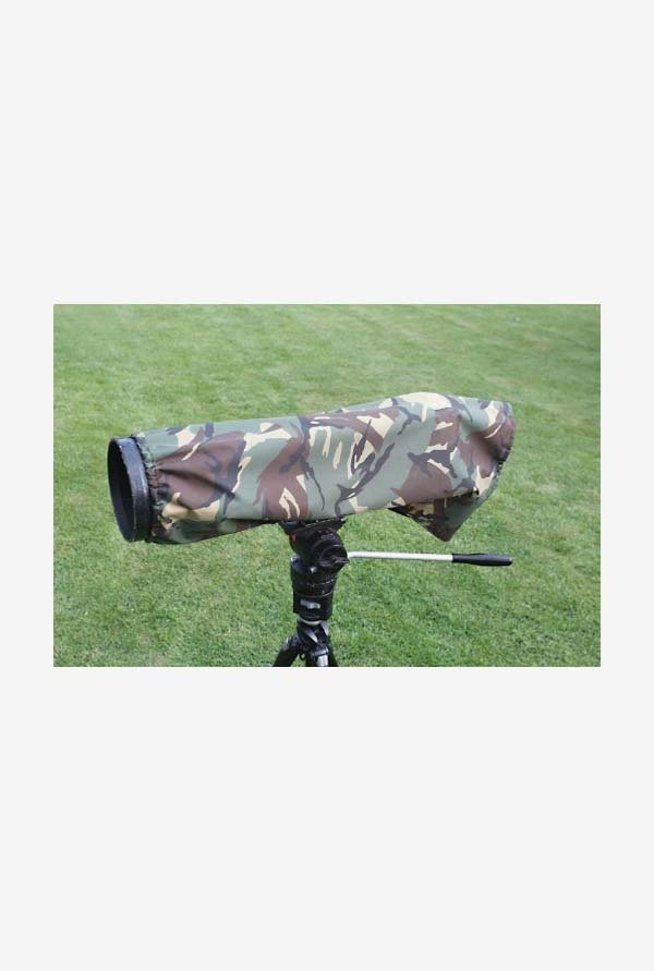 Rainsleeve Cover for Camera Lenses, Medium Size (Camouflage)