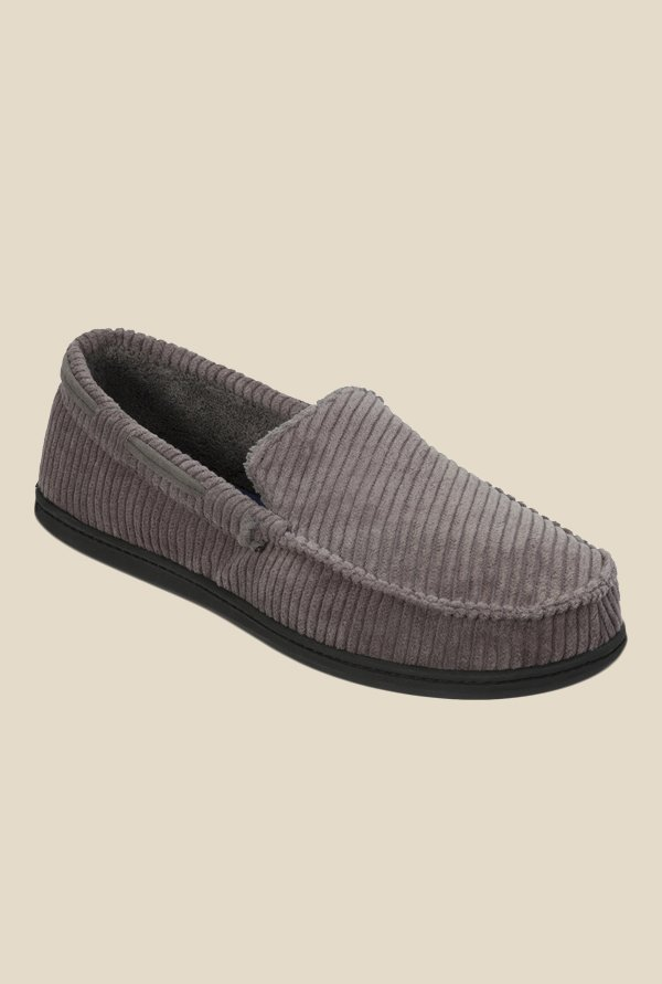 Dearfoams Grey Casual Loafers