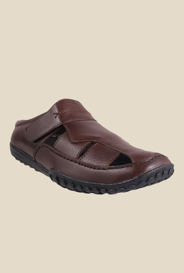 Metro Brown Fisherman Sandals