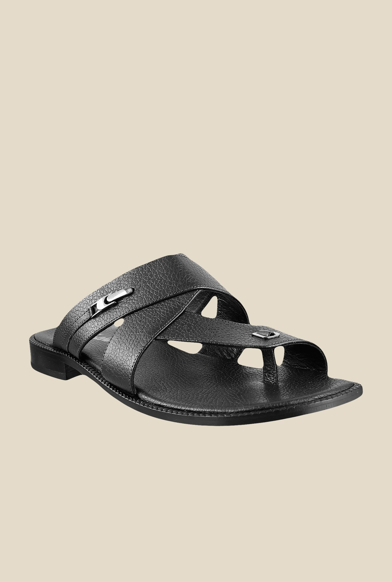 Da Vinchi by Metro Black Formal Sandals