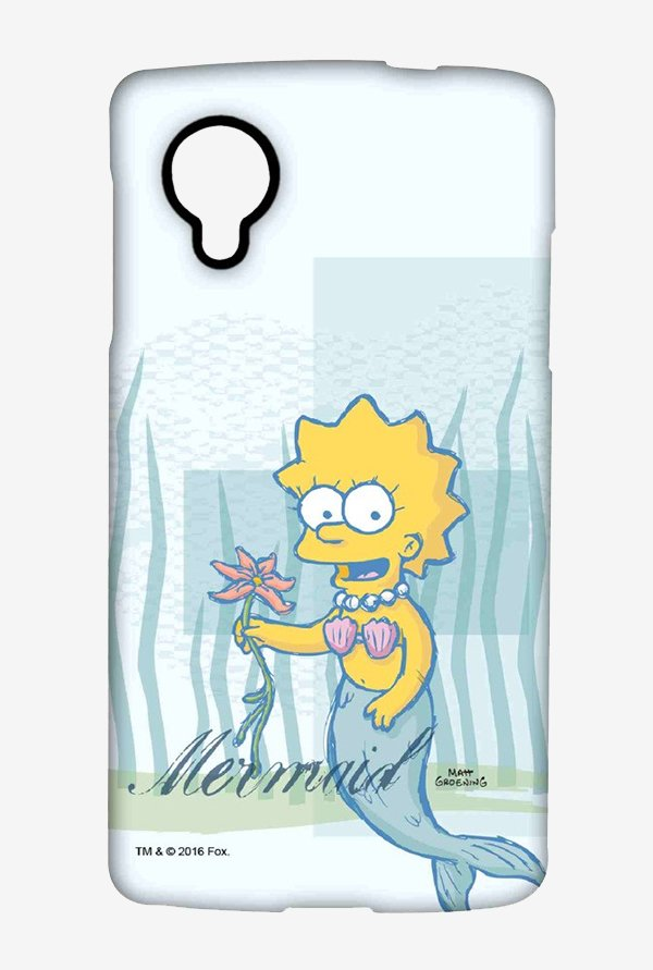 Simpsons Mermaid Case for LG Nexus 5