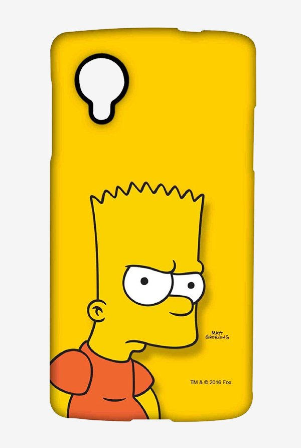 Bart Simpson Case for LG Nexus 5