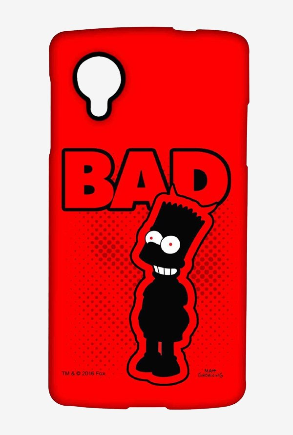 Simpsons Bad Case for LG Nexus 5