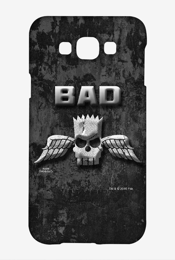 Simpsons Cracked Wall Bart Case for Samsung Galaxy A8