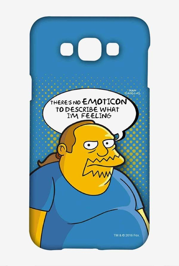 Simpsons Comic Guy Case for Samsung Galaxy A8