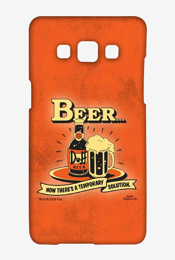 Simpsons Temporary Solution Case for Samsung Galaxy A7