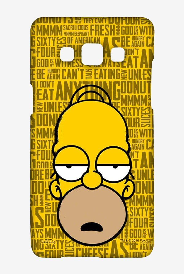 Simpsons Homer Says Case for Samsung Galaxy A5