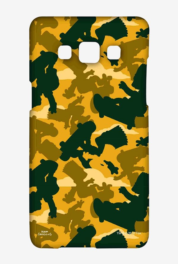 Simpsons Camo Bart Case for Samsung Galaxy A5
