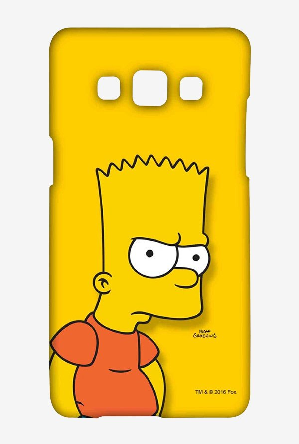 Bart Simpson Case for Samsung Galaxy A5