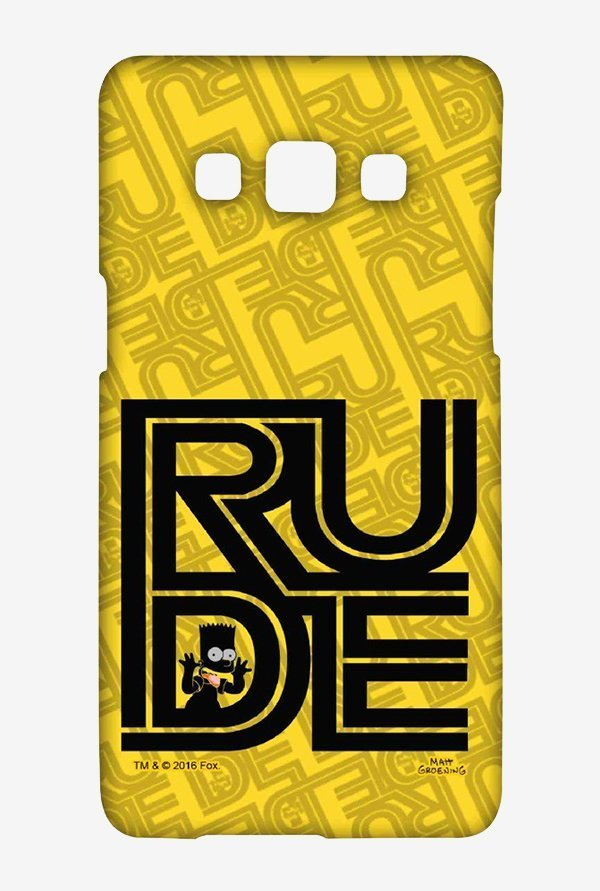 Simpsons Rude Case for Samsung Galaxy A5