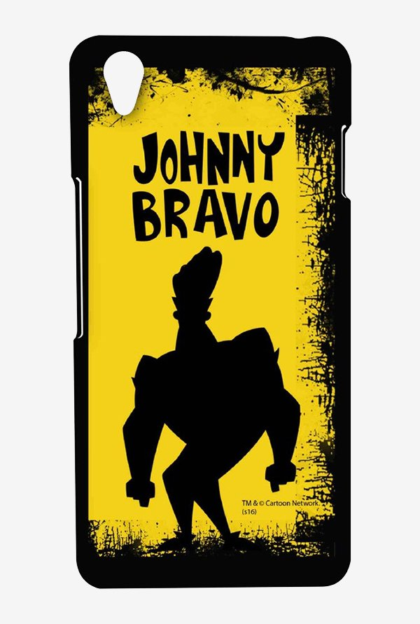 Johnny Bravo Yellow Grunge Case for Oneplus X