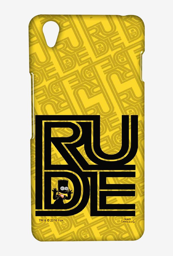 Simpsons Rude Case for Oneplus X