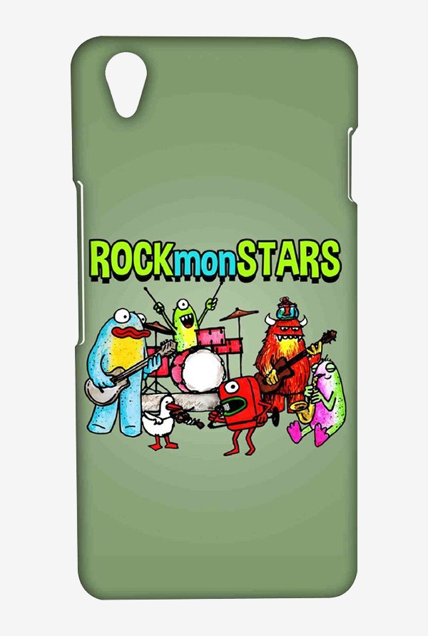 Kritzels Rockmonstars Case for Oneplus X