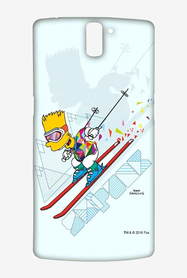 Simpsons Ski Punk Case for Oneplus One