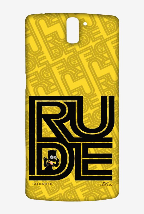 Simpsons Rude Case for Oneplus One