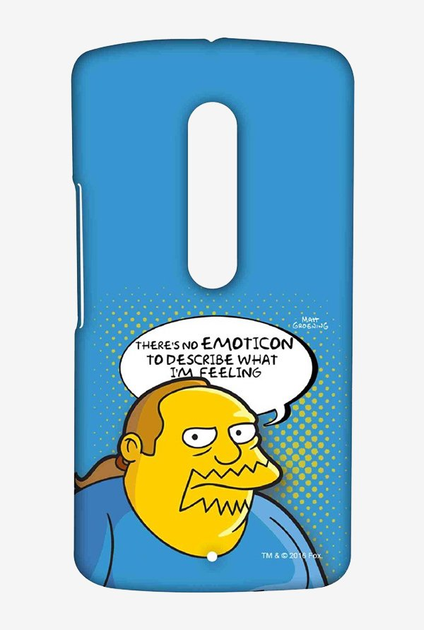 Simpsons Comic Guy Case for Moto X Play