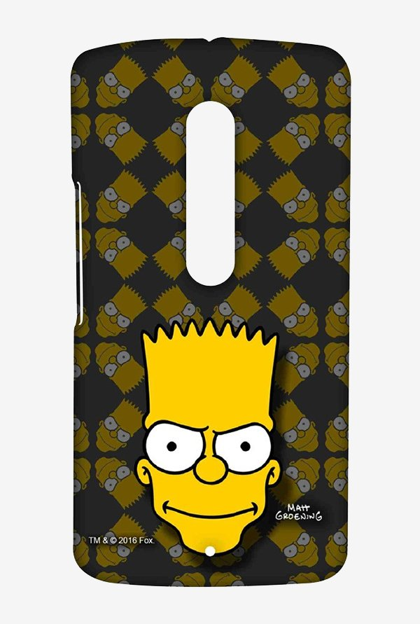 Simpsons Bartface Case for Moto X Play