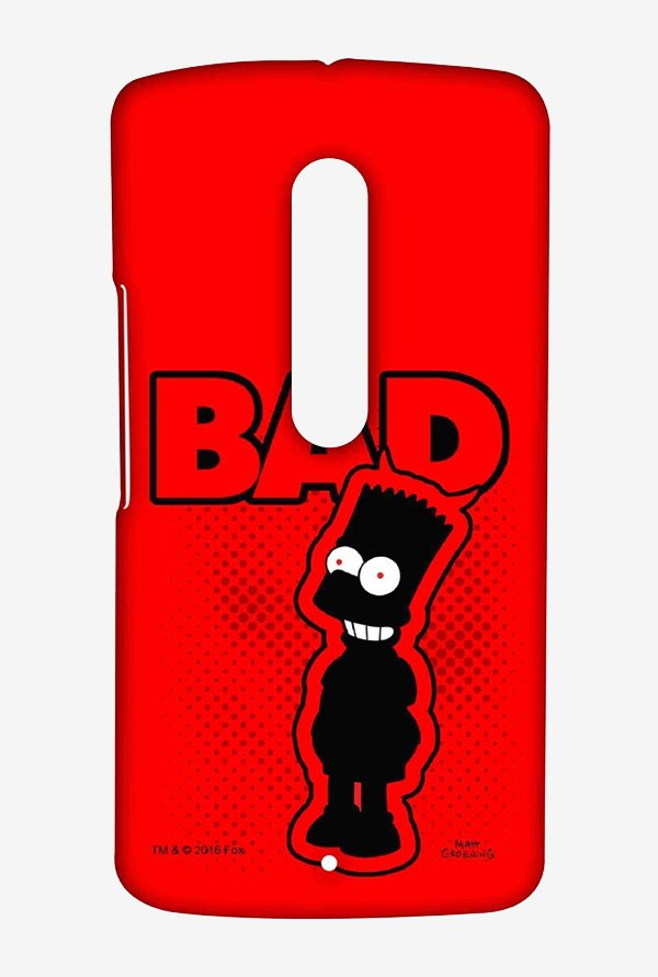 Simpsons Bad Case for Moto X Play