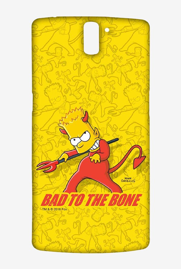 Simpsons Bad To The Bone Case for Oneplus One