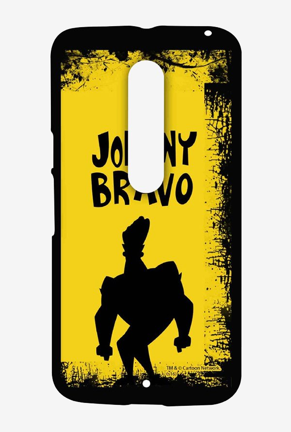 Johnny Bravo Yellow Grunge Case for Moto X Style
