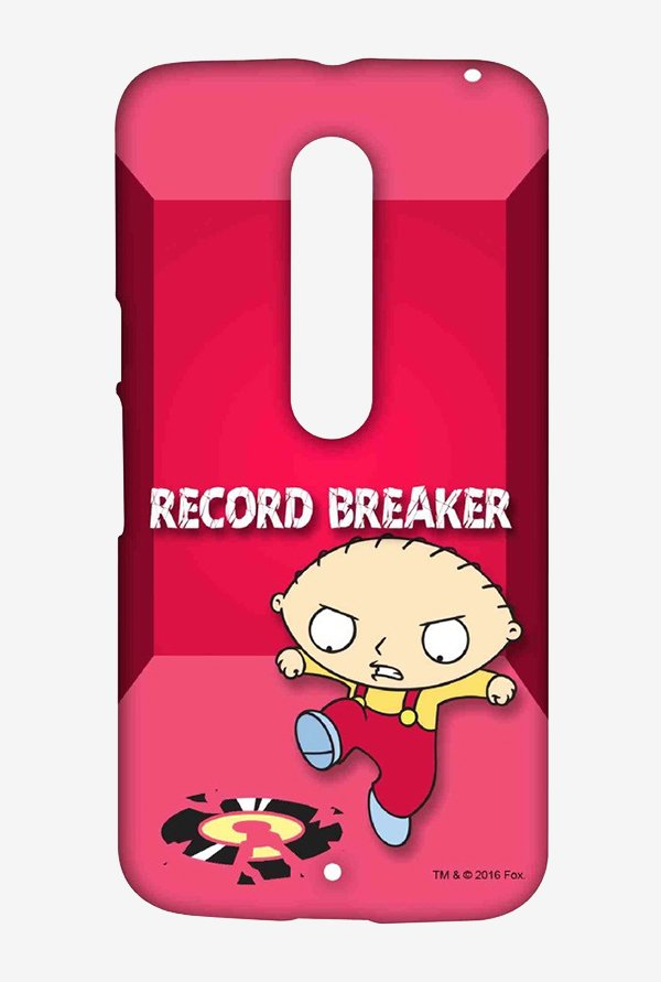Family Guy Record Breaker Case for Moto X Style