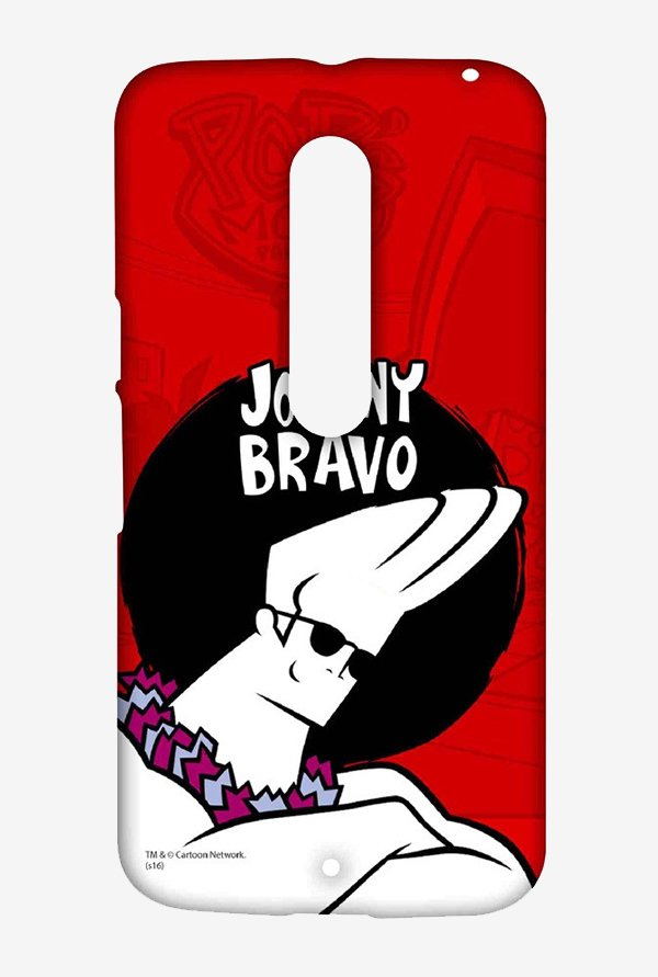 Johnny Bravo Hawaii Case for Moto X Style