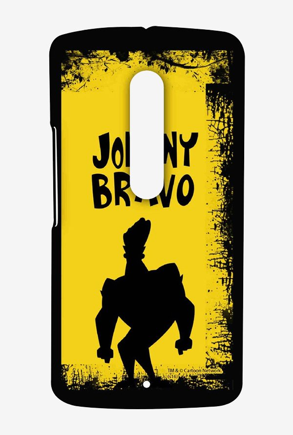 Johnny Bravo Yellow Grunge Case for Moto X Play