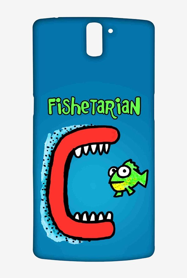 Kritzels Fishetarian Case for Oneplus One
