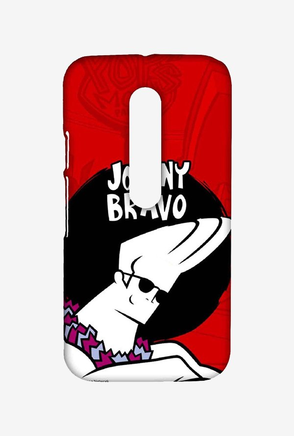 Johnny Bravo Hawaii Case for Moto G3