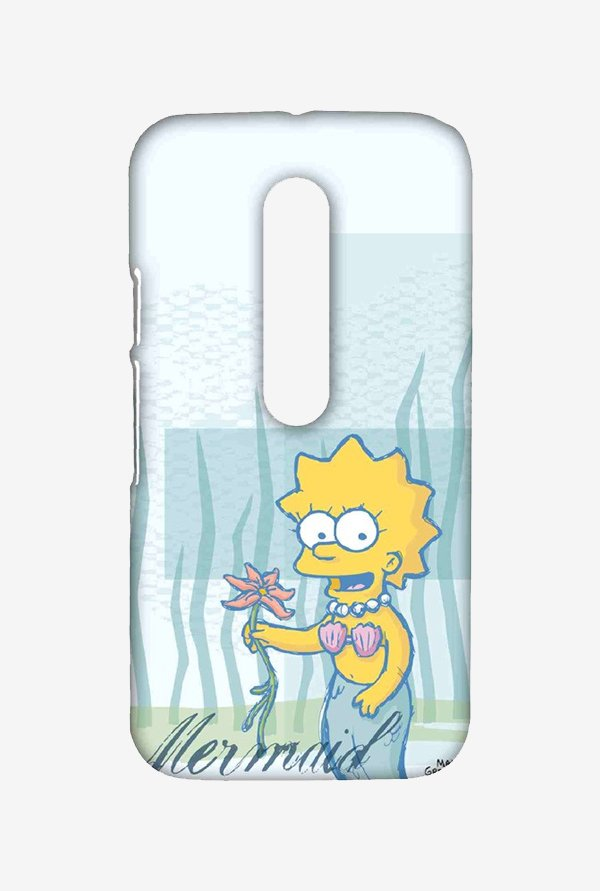 Simpsons Mermaid Case for Moto G Turbo
