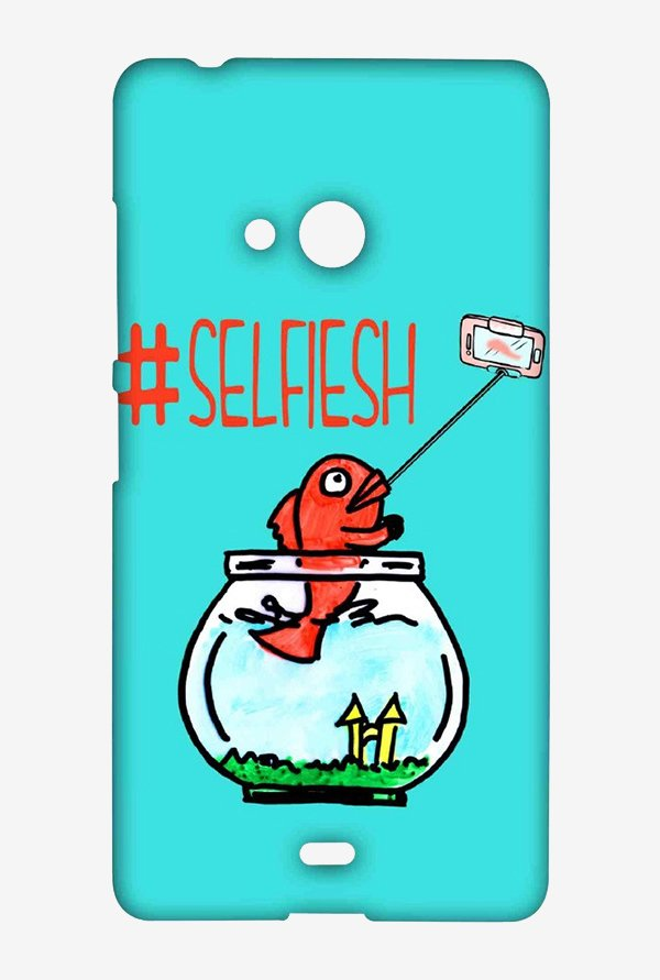 Kritzels Selfiesh Case for Microsoft Lumia 540