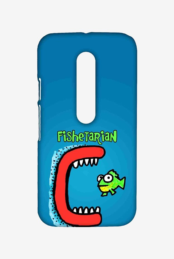 Kritzels Fishetarian Case for Moto G Turbo