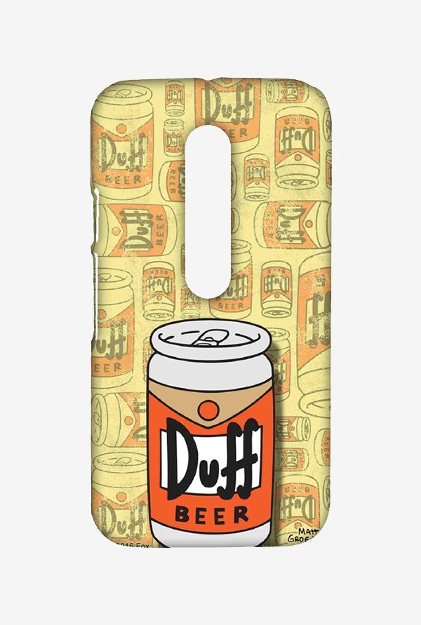 Simpsons Duff Beer Case for Moto G Turbo