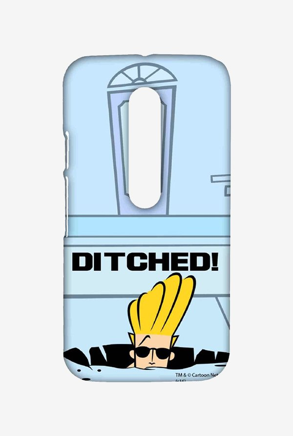 Johnny Bravo Ditched Case for Moto G Turbo