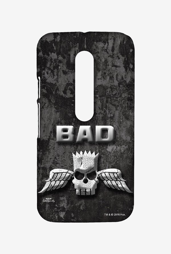 Simpsons Cracked Wall Bart Case for Moto G Turbo