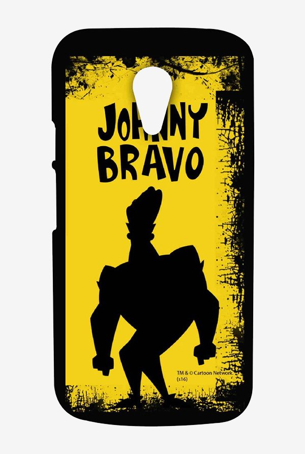 Johnny Bravo Yellow Grunge Case for Moto G2
