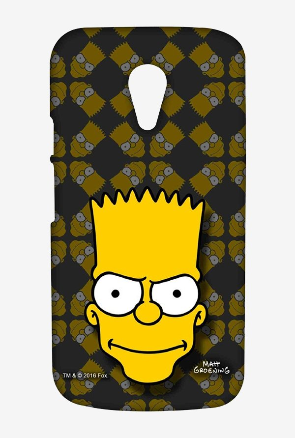 Simpsons Bartface Case for Moto G2