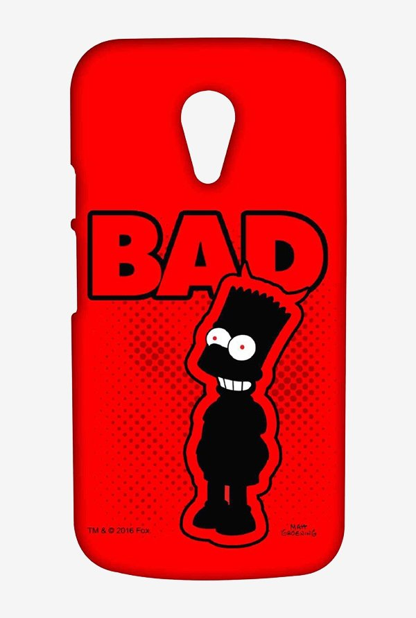 Simpsons Bad Case for Moto G2