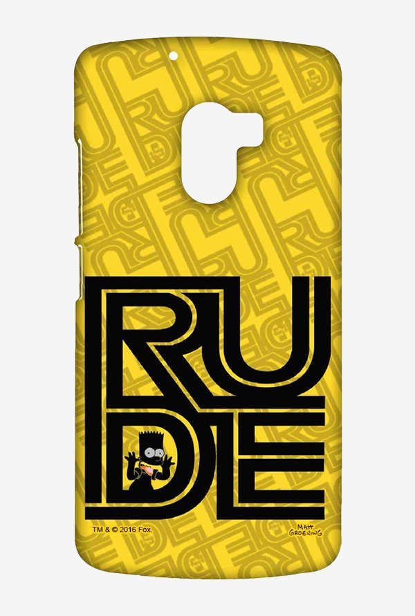 Simpsons Rude Case for Lenovo K4 Note