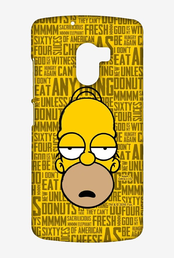 Simpsons Homer Says Case for Lenovo K4 Note